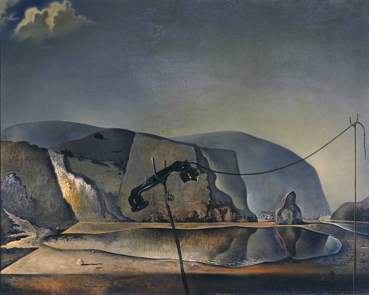 Mountain Lake 1938 by Salvador Dalí 1904-1989