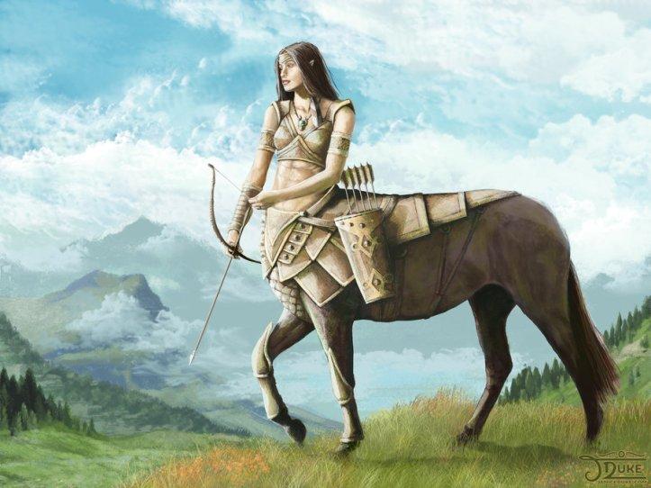 centaur huntress