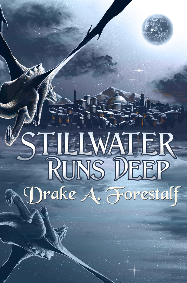 Stillwater Runs Deep © Janice Duke. Book cover for Stillwater Runs Deep by Drake A. Forestalf.