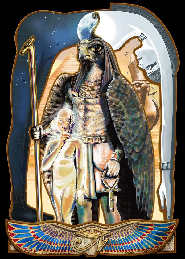 7 Horus © 2012 Janice Duke