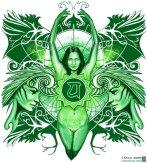 Colours of magic: Green