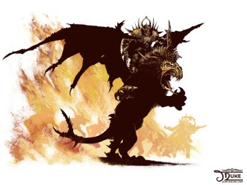 chaos_lord_on_manticore_by_janiceduke