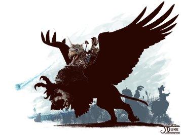 karl_franz_riding_deathclaw_by_janiceduke