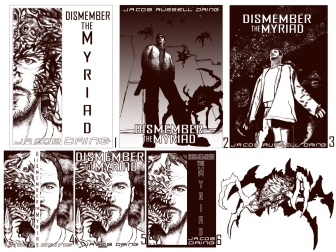 Dismember the Myriad - initial design process © Janice Duke