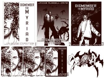 Dismember the Myriad - initial design process © Janice Duke