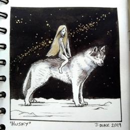 Husky © Janice Duke