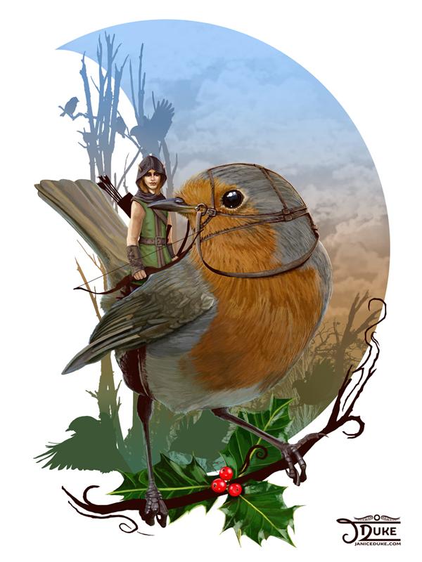 Robin Hood © Janice Duke